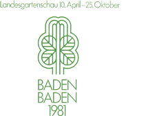 1981 Landesgartenschau Baden-Baden